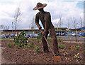 NS5266 : Wire Sculpture, Braehead by wfmillar