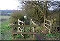TQ2194 : Kissing gate, The LOOP by N Chadwick