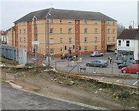 SU1585 : Brunswick House, Swindon by Jaggery