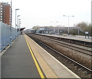 SU1585 : Swindon Railway Station by Jaggery