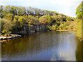 SD7314 : Quarry, Jumbles Reservoir. by David Dixon