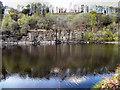 SD7314 : The Quarry, Jumbles Reservoir by David Dixon
