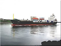 NZ3668 : A German containership, mv Marstan by Stanley Howe
