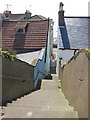 TQ8008 : Steps to Undercliff by Oast House Archive