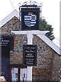 TG2536 : Vernon Arms Public House sign by Adrian Cable