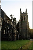 SH5638 : St John's Church, Porthmadog by Christine Matthews