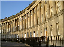 ST7465 : East arc of Royal Crescent by Neil Owen