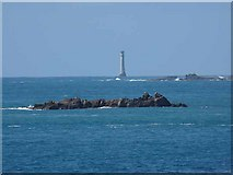 SV8006 : Bishop Rock Lighthouse by Oliver Dixon