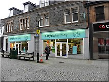 NN1073 : Lloyd's Pharmacy, Fort William by Kenneth  Allen