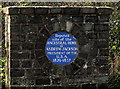 Photo of Andrew Jackson blue plaque