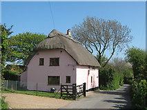 TR3451 : Farm Cottage, Great Mongeham by David Anstiss