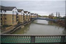 TL1998 : River Nene, Peterborough by N Chadwick