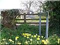 NU0304 : 'Posh' sign at Cartington by David Clark
