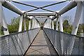TL1898 : Footbridge over the Nene by Ashley Dace