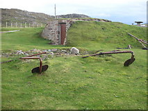 NC0327 : Icehouse and bag-net anchors, Clachtoll by Iain A Robertson