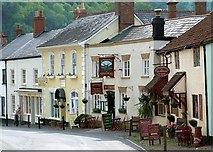 SS9843 : West Street, Dunster by Rose and Trev Clough