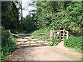 SY0483 : Permissive cycleway leading from NCN 2 by David Smith