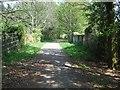 SY0483 : NCN 2 bridge over Dalditch Lane by David Smith