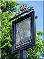 TQ7811 : Hollington Oak sign by Oast House Archive