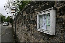 SK2572 : Community notice board by David Lally