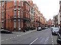 TQ2880 : Colourful Junction, Mayfair by David P Howard