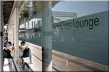 SK3635 : Window of the first class lounge by David Lally