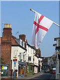 TQ1649 : Flag Day on West Street by Colin Smith