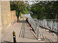 TQ3183 : Access to the Regents Canal by Stephen Craven
