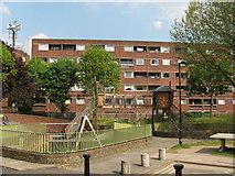 TQ3681 : Playground on Tomlins Terrace by Stephen Craven