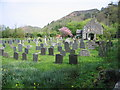 SH6414 : Caerdon chapel and graveyard, Arthog by Rudi Winter