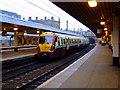 NT2373 : Evening scene at Haymarket station by Thomas Nugent