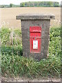 TM2865 : Dennington Road Postbox by Adrian Cable