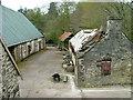 NM6984 : Farmyard at Borrodale House farm by Dave Fergusson