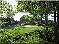 SJ9175 : Oldhams Hollow Barn by Peter Turner