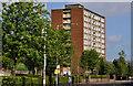 J3477 : Mount Vernon House, Belfast by Albert Bridge