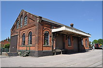 TL8928 : Chappel & Wakes Colne Goods Shed by Ashley Dace