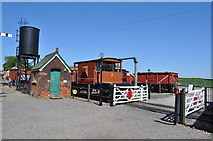 TL8928 : Chappel and Wakes Colne Goods Yard by Ashley Dace
