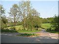 TQ5532 : Road junction near Heathfield by Stephen Craven