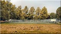 TQ3005 : Tennis Court, Preston Park by Paul Gillett
