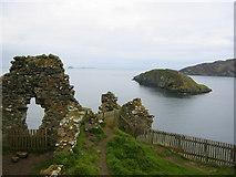 NG4074 : Duntulm Castle by rich cressman