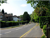 TQ3355 : Caterham:  Harestone Valley Road by Dr Neil Clifton