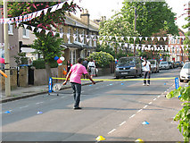 TQ4077 : Tennis match in Couthurst Road by Stephen Craven