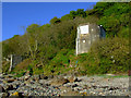 NS2075 : Pillbox near Cloch Lighthouse by Thomas Nugent