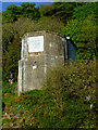 NS2075 : WWI searchlight building near Cloch Lighthouse by Thomas Nugent