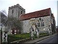 SU4829 : Winchester - St John The Baptist Church by Chris Talbot