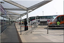 TL5523 : Stansted Airport coach and bus station by Roger Templeman
