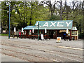 SC4384 : Laxey Station by David Dixon