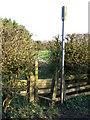 NZ2809 : Stile, Spa Beck by Maigheach-gheal