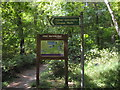 TQ1392 : Footpath sign, 'Pinner Grimsdyke Circular Walk' by PAUL FARMER