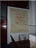 SD2296 : Holy Trinity Church, Seathwaite, Wall painting by Alexander P Kapp